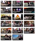mosaique des vidéos de Buzzons contre le sexisme