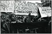 Manifestion du 8 mars 1980 coordination des femmes noires