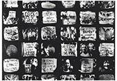 Mosaique de slogans des années 70