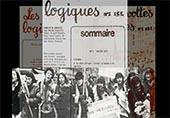 """photos collage avec couverture de la revue """"revolte logique"""" et manifestation"""