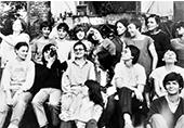 photo de groupe de la maison des femmes à Toulouse