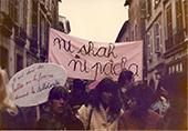 soutien aux femmes iranniennes 19 mars 1979 Toulouse danderole Ni Sha ni pacha