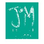 logo du planning familial Jeunescoeur vert avec un J et un M en blanc