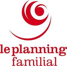 logo du planning familial dessins circulaire en rouge